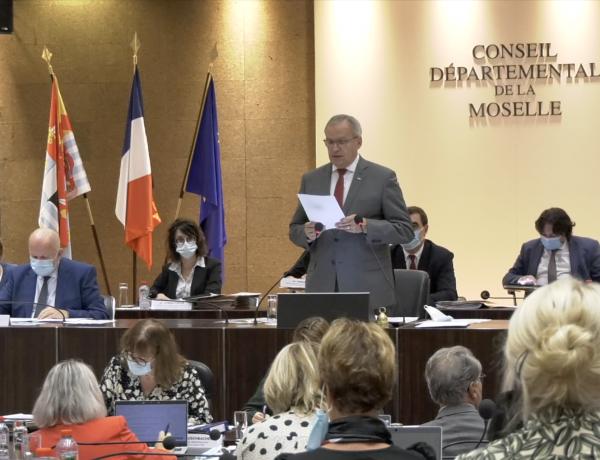 Conseil départemental de la Moselle : la grande rentrée du nouvel hémicycle