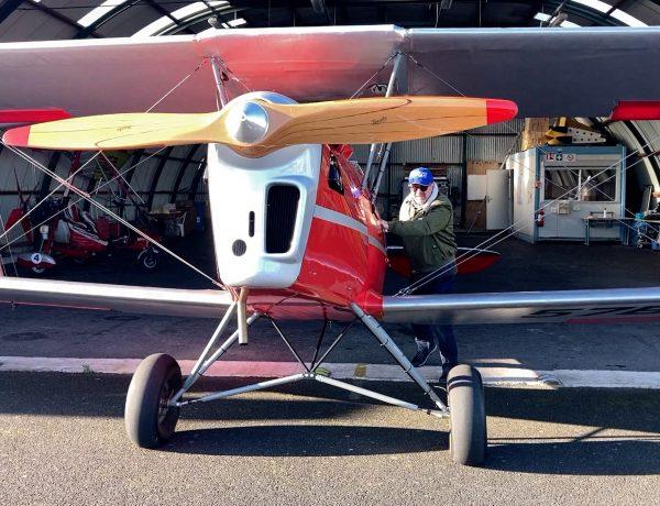 Buhl-Lorraine : Un pilote d'ULM fait revivre un avion de l'entre-deux-guerres